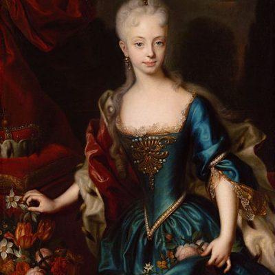 アンドレアス・メラーが描く11歳のマリア・テレジア