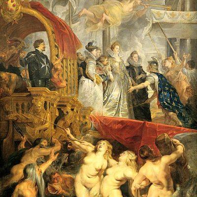 ピーテル・パウル・ルーベンス 「マリー・ド・メディシスのマルセイユ上陸」