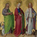 シュテファンロッホナーの描く聖カタリナ