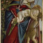 サンドロ・ボッティチェリの「聖母子と幼い聖ヨハネ」