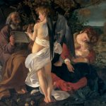 西洋絵画で聖書の物語を読む 「エジプト逃避途上の休息」カラヴァッジョ