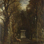 西洋美術への敬意があふれる「コルオートン・ホールのレノルズ記念碑」ジョン・コンスタブル