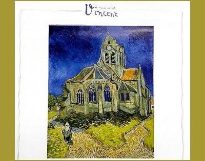 2020年残り2ヶ月はゴッホの「オーヴェールの教会」と過ごします