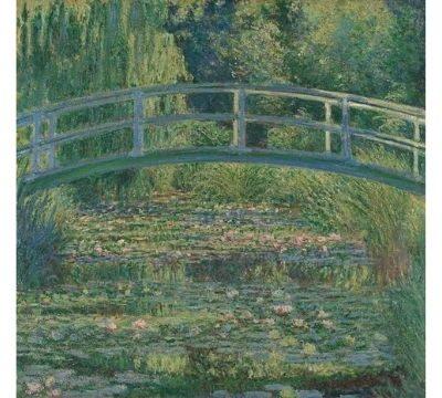 ジヴェルニーの庭を描き続けたモネ「睡蓮の池」